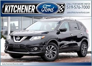 2016 Nissan Rogue AWD/LEATHER/PANO ROOF/CAMERA/NAVI/PWR GROUP
