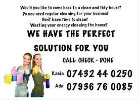 Cleaning houses or businesses, cleaning services, deep cleaning, regular cleaning