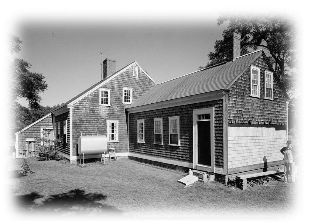 Cape cod colonial house plans one story plan w attic for Colonial cape