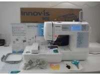 COMPUTERIZED EMBROIDERY MACHINE BROTHER INNOV IS 90E COMPLETE . MINT CONDITION. INC TRANSIT CARTON