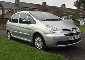 2009 Citroen Xsara Picasso.LOW MILEAGE just SERVICED £1995!!!!!!