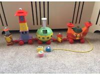In the night garden musical train Nicky nonk childrens baby toy