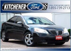 2006 Pontiac G6 GT GT/LEATHER/ROOF/PWR GROUP/ONLY 186k KM'S