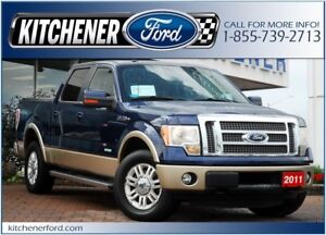 2011 Ford F-150 Lariat 4WD/LEATHER/TOW PKG/CAMERA/SIRIUS