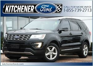 2016 Ford Explorer XLT /LEATHER/NAVI/PANO ROOF/HTD SEATS&MIRR...