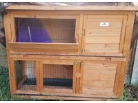 Rabbit Hutch. With Cover. Very Good Condition And Quality