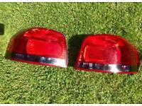 TINTED 2004 Audi A3 8P S3 rear lights ( tail lights )