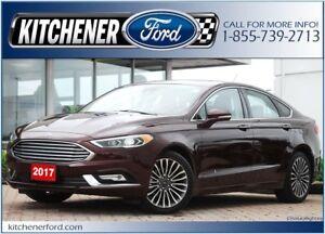 2017 Ford Fusion Titanium 1.99% OAC/EXEC DRIVEN/AWD/NAVI/ROOF...