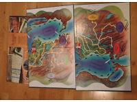 1972 WADDINGTONS VINTAGE 'JEU D'AFFAIRES/BUSINESS GAME BOARD GAME