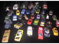 36 diecast / corgi monster trucks / cars / helicopters Disney