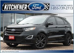 2015 Ford Edge Sport LEATHER/NAVI/PANO ROOF/RMT START/CAMERA/...