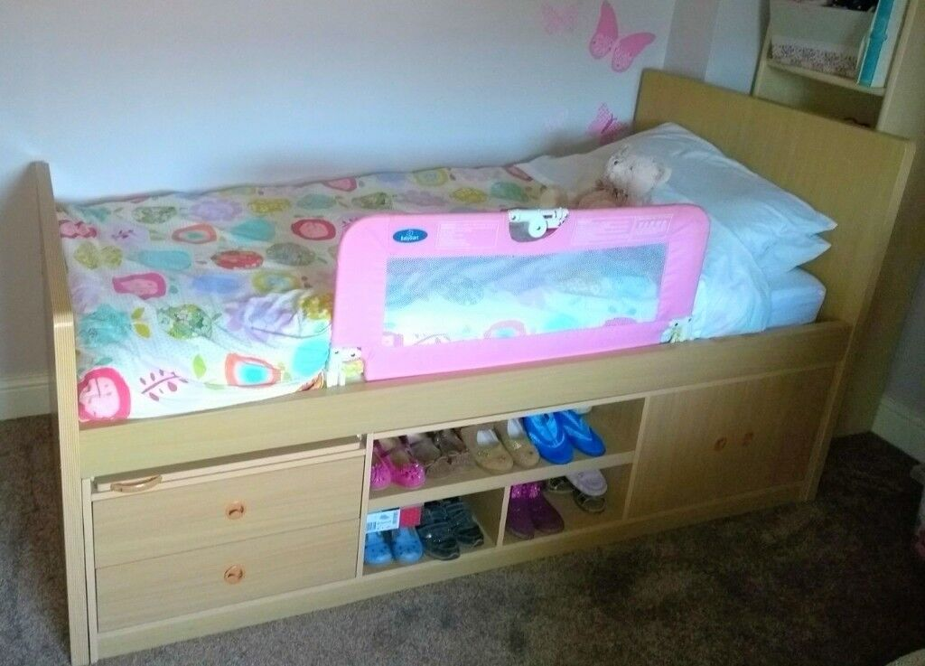 Excellent Single Bed with Storage