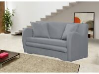 NEW Small Sofa Bed (damaged) Grey Colour Comfortable