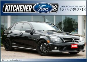 2010 Mercedes-Benz C-Class LEATHER/CAMERA/NAVI/HTD SEATS/ONLY...