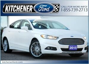 2015 Ford Fusion SE SE/SUNROOF/TECH PKG/NAVI/HTD SEATS&MIRROR...