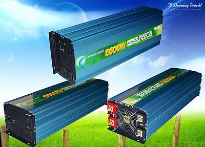 16000w peak 8000w Power Inverter DC 12V to AC 110V Car Power Tool