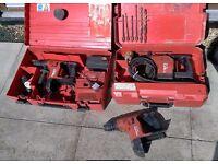 Hilti 36v battery Drill & 110v Drill