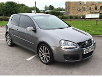 VW Golf 2.0 TDI GT Sport 170 BHP DPF Diesel 2007 Manual 3 Door ~ Very Rare ~ Sat Nav/Leather/Sunroof