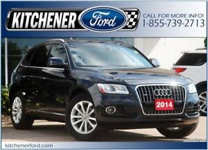2014 Audi Q5 2.0T Progressiv AWD/LEATHER/HTD SEATS/PWR GROUP/...