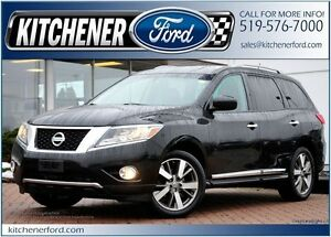 2013 Nissan Pathfinder S 4WD/LEATHER/HTD SEATS/TOW PKG/NAVI/P...