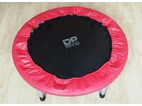 Trampoline indoor outdoor in new condition. 92 CM WEIGHT MAX 100KG
