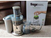 Sage Nutri Juicer BJE410UK - Heston Blumenthal 1200W Centrifugal Juicer