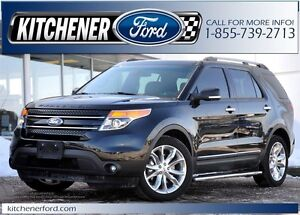 2015 Ford Explorer Limited 4WD/LEATHER/HTD SEATS/HTD MIRRORS/...
