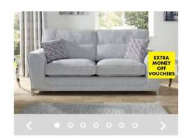 SCS Grey Sofas for sale