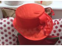 Wedding Hat, exclusive design by Victoria Ann, ideally suited for Mother of the bride.