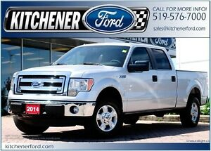2014 Ford F-150 XLT XLT/CREW/6.5FT BOX/4X4/5.0L V8/WARRANT
