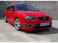 EPIC and MINT, RED Ford Focus 2.5 ST 220bhp