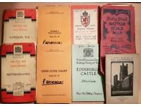 Collection of Old Maps and Brochures