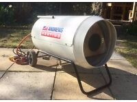Extra-large Propane space garage workshop patio heater