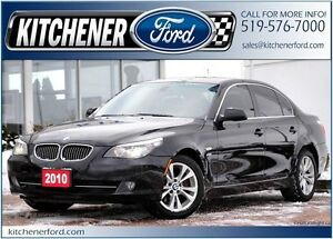 2010 BMW 535i xDrive AWD/LEATHER/ROOF/NAVI/HTD SEATS/PWR GROUP