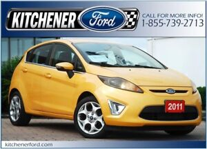 2011 Ford Fiesta SES SES/LEATHER/HTD SEATS/SIRIUS/PWR LOCKS&W...