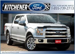 2016 Ford F-150 Lariat Lariat/4WD/LEATHER/TOW PKG/NAVI/CAMERA...