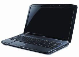 Acer Aspire 5738ZG 15 inch Laptop, Intel Pentium DualCore T4200 2.0 GHz, 3 GB RAM, 250GB HDD, Vista