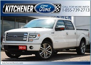 2013 Ford F-150 Limited RED LEATHER/HEAT&COOL SEATS/NAVI/CAM/...