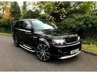 "2006 RANGE ROVER SPORT 2.7 DIESEL HSE /BLACK/ FULL AUTOBIOGRAPHY FACELIFT + 22"" ALLOYS + MULTIMEDIA"