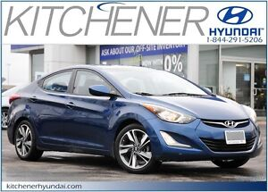 2015 Hyundai Elantra GLS // MANUAL // AC // SUNROOF // NAVIGA...