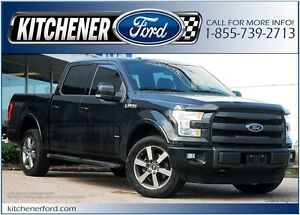 2015 Ford F-150 4WD/LEATHER/TOW PKG/PANO ROOF/NAVI/RMT START
