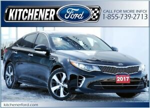 2017 Kia Optima SX Turbo LEATHER/NAVI/PANO ROOF/HOT&COLD SEAT...