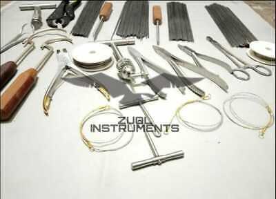 70 Pc Wiring Kirshner Orthopedic Instruments Set