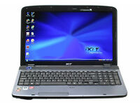 Fast Acer Aspire 5538 with 4GB RAM Memory. Dark Blue Lid. NO OFFERS.