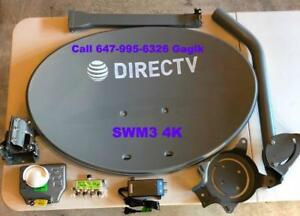Directv Dish Network Bell Satellite Shaw Direct HD Antenna IPTV CAT5 Satellite installations