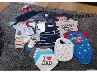 Boys 0 - 3 Months Clothes