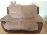 Harveys reclining sofa suite for sale in good condition!