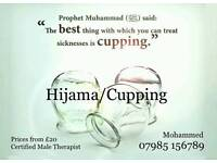 Hijama/Wet Cupping Male & Female therapists