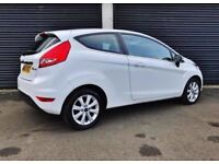 2011 FORD FIESTA 1.4 TDCI ZETEC 3 DOOR WHITE DIESEL NOT CORSA CLIO A3 GOLF LEON FOCUS CIVIC ASTRA