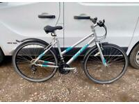 Ladies Raleigh hybrid bike 18'' alloy frame £75